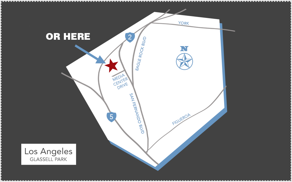 Point 360 - Contact Map - Burbank, CA